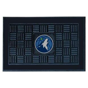 NBA - Minnesota Timberwolves Medallion Doormat ByFANMATS