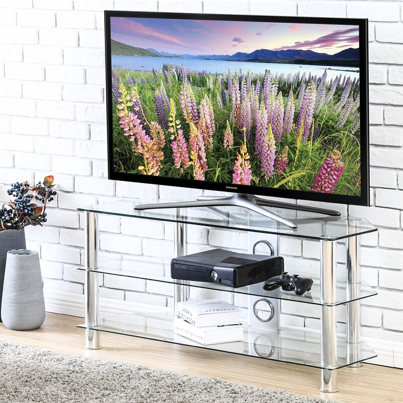 """Clear Evgenii Tv Stand For T Vs Up To 43"""" by Orren Ellis"""