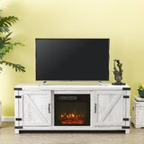 Eakly TV Stand for TVs up to 65 with Electric Fireplace Included by Gracie Oaks