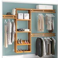 John Louis Home 12-inch W Deep Solid Wood Simplicity Closet System Deals