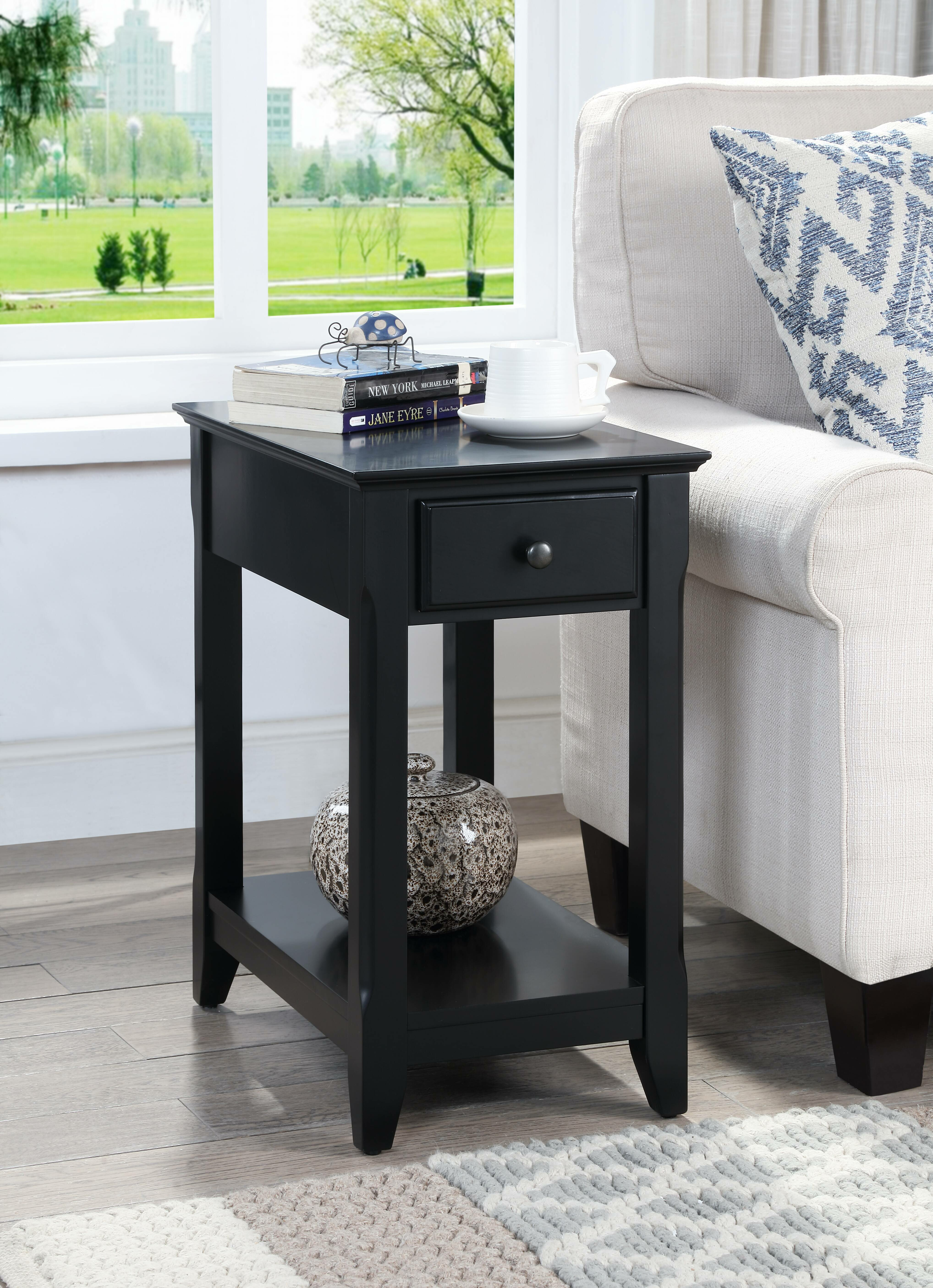 Black End Side Tables You Ll Love In 2020 Wayfair