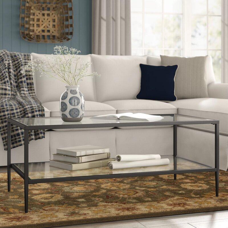 Birch Lane Heritage Harlan Double Shelf Coffee Table Reviews Wayfair