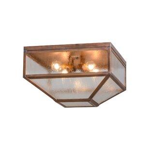 Meyda Tiffany 4-Light Flush Mount