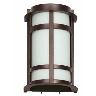 Read Reviews Allman Outdoor Flush Mount By Ebern Designs