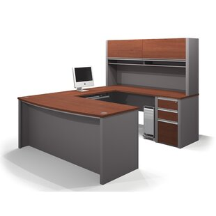 Aurea 2 Piece U-shaped Desk Office Suite