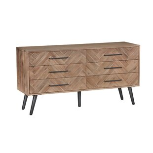 Jamari 6 Drawer Double Dresser by George Oliver