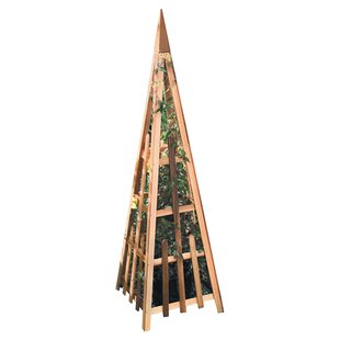 Buyers Choice Phat Tommy Wood Pyramid Wood Obelisk Trellis