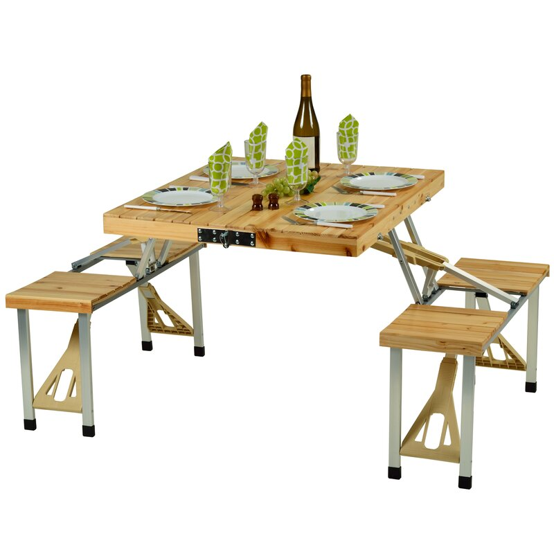 Nice Throop Portable Picnic Table