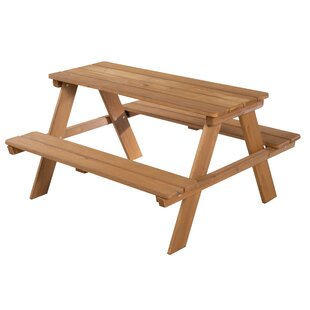 Deluxe Children's Picnic Bench By Roba