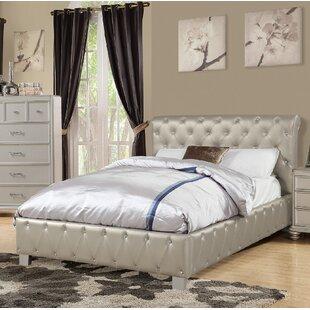 Rosdorf Park Amanda Upholstered Sleigh Bed
