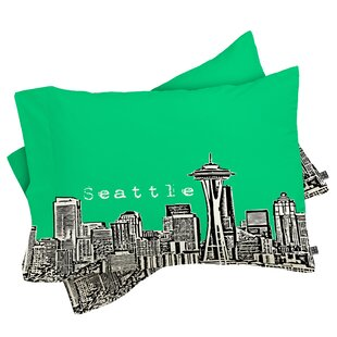 Bird Ave Seattle Pillowcase