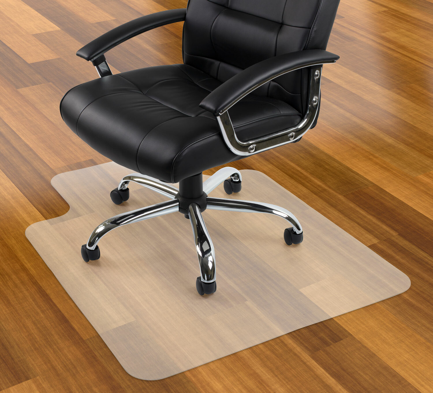High Pile Carpet Beveled Chair Mat