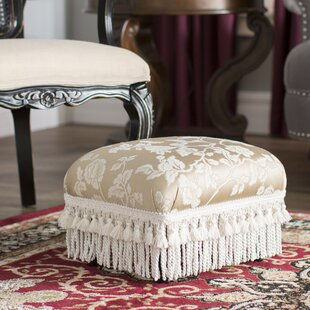 Leonardson Traditional Decorative Ottoman by Astoria Grand