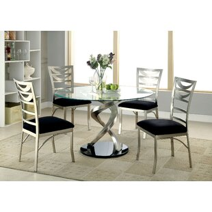 Ruffin 5 Piece Dining Set by Orren Ellis Coupon