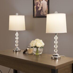 Faceted Crystal 23 Table Lamp (Set of 2)