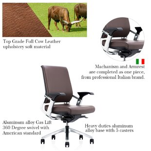 Iglesias Genuine Leather Task Chair