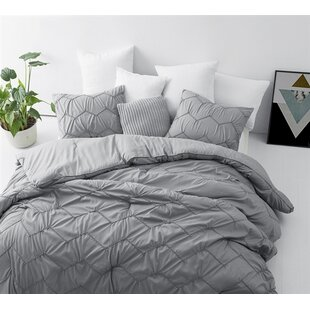 Langley Street Blaine Textured Waves 3 Piece Comforter Set