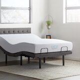 14.75 Massaging Zero Gravity Adjustable Bed with Wireless Remote by Lucid Comfort Collection