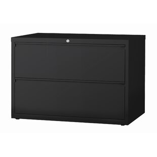 Symple Stuff Kissena 2 Drawer Lateral Filing Cabinet