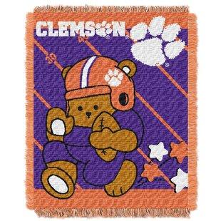 Find for Collegiate Clemson Baby Throw ByNorthwest Co.