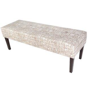 Wrought Studio Lehto Upholstered Bench