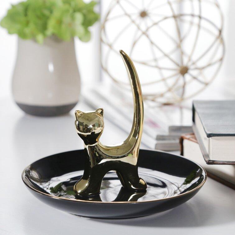 Desantiago Cat Ring Holder