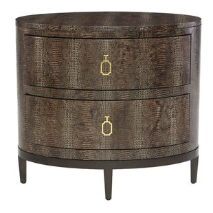 Bernhardt Jet Set 2 Drawer Nightstand