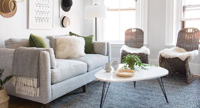 Small Space Makeover: A Bright, Open Living Room Part 93