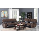 Jedicke 3 Piece Reclining Living Room Set by Red Barrel Studio®