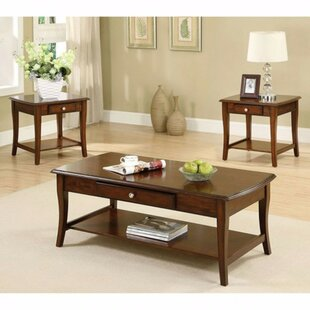 Klimek 3 Piece Coffee Table Set