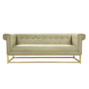Dollman Button Tufted Sofa by Everly Quinn Reviews