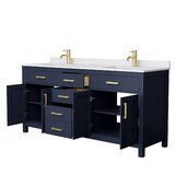 Beckett 72 Double Bathroom Vanity Set by Wyndham Collection