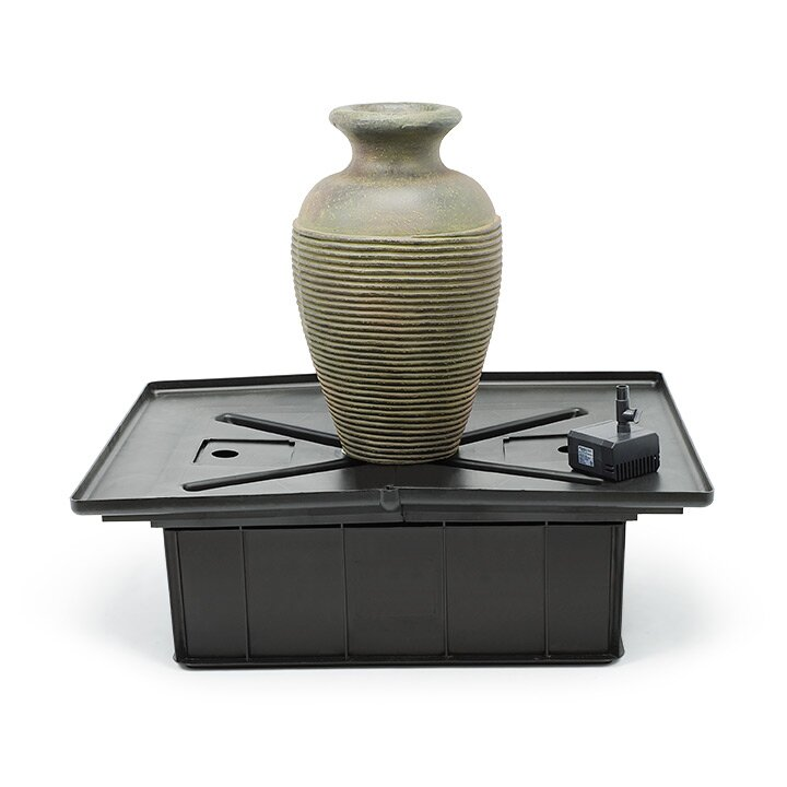 Aquascape Fiberglass Amphora Slate Vase Fountain Kit Wayfair
