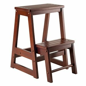 2-Step Manufactured Wood Step Stool  sc 1 st  Wayfair & Wooden Bedside Step Stools | Wayfair islam-shia.org