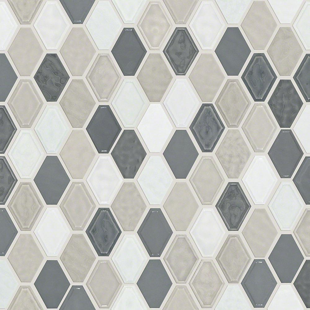 Shaw Floors Victoria Diamond 0 5 X 0 5 Ceramic Mosaic Tile Wayfair