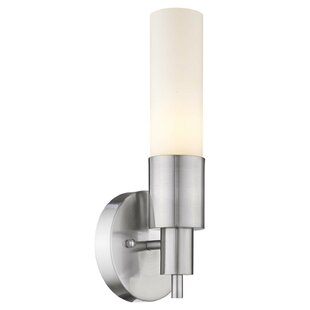 Ebern Designs Fenderson 1-Light Candle Wall Light