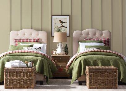 Cottage/Country Kids Bedroom Design