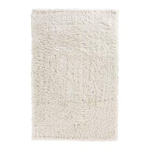Kirtley White Shag Area Rug