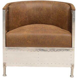 Lomonaco Fabric Barrel Chair By 17 Stories