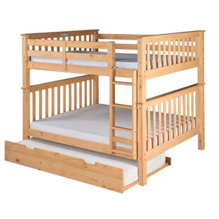 Lindy Mission Bunk Bed With Trundle by Harriet Bee 2019 Sale