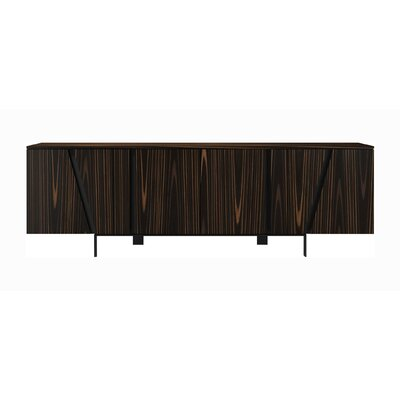 Comm Office Miliano Sideboard Color: Cathedral Ebony