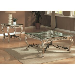Astoria Grand Camber 2 Piece Coffee Table Set