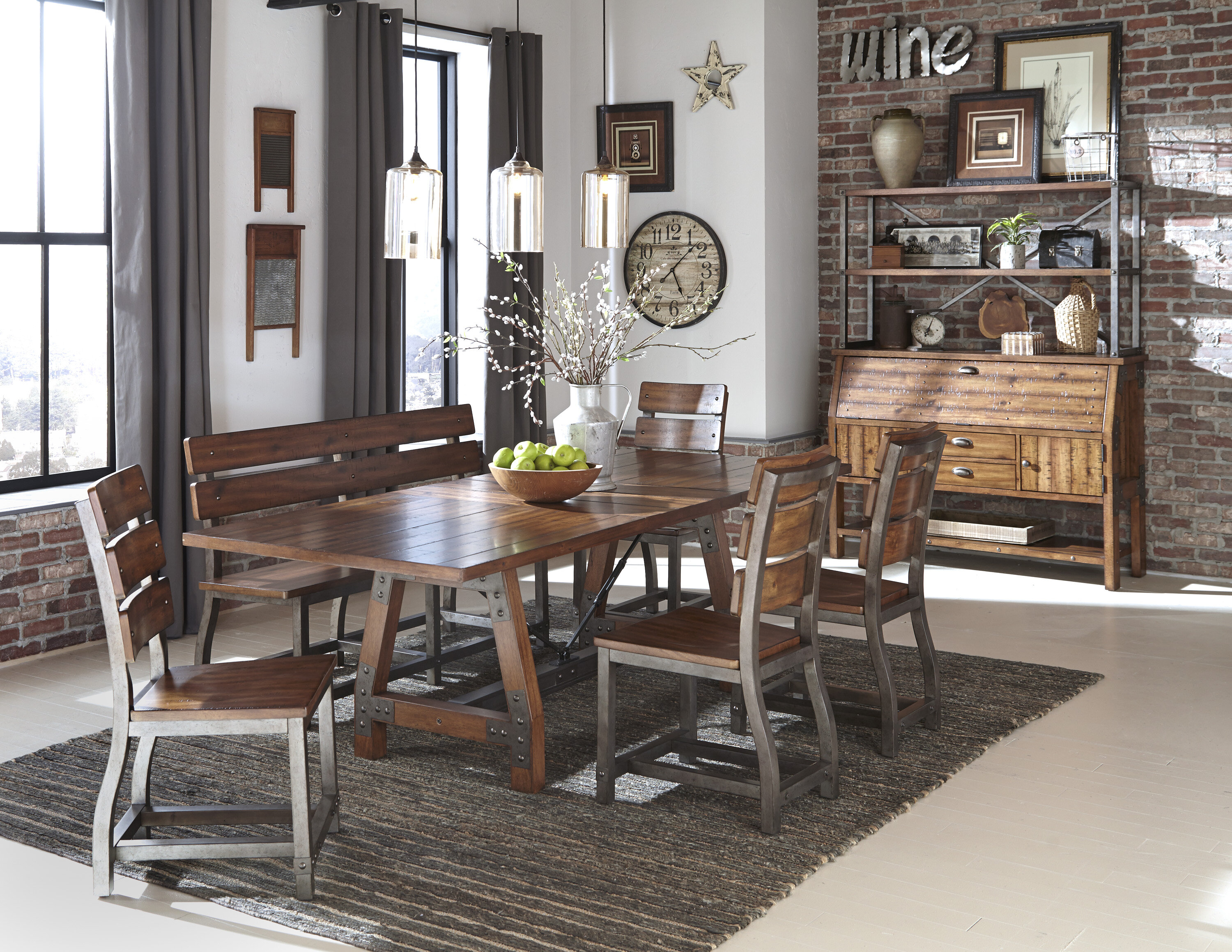 Millwood pines liam extendable dining table wayfair