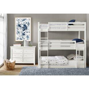White Bunk Loft Beds Youll Love Wayfair