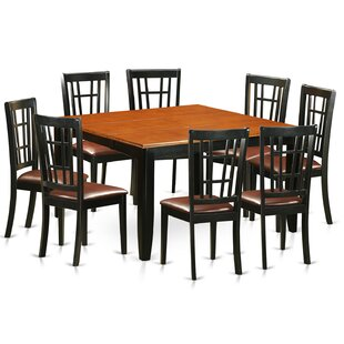 Pilcher 9 Piece Extendable Dining Set August Grove