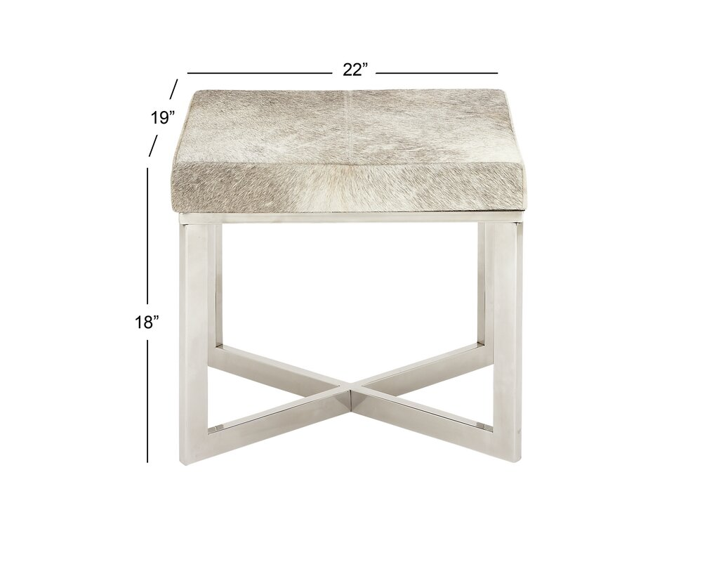 Stainless Steel Hide Stool
