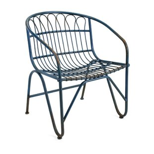 Tapia Metal Dining Chair by Bungalow Rose