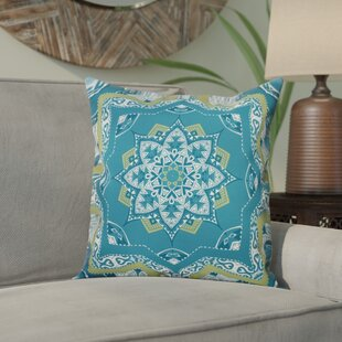 Meetinghouse Shawl Geometric Outdoor Throw Pillow