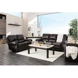Brodhead Leather Reclining Sofa