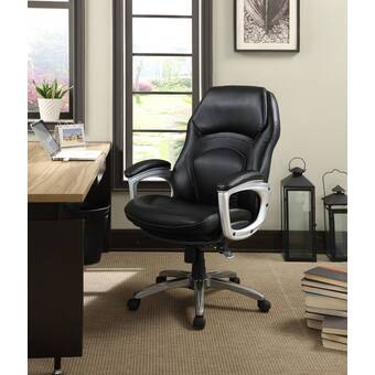 Serta At Home Blissfully Executive Chair Reviews Wayfair